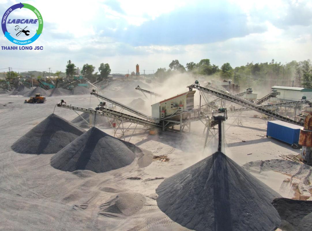 Cộng nghệ sản xuất cát nhân tạo từ VSI Barmac