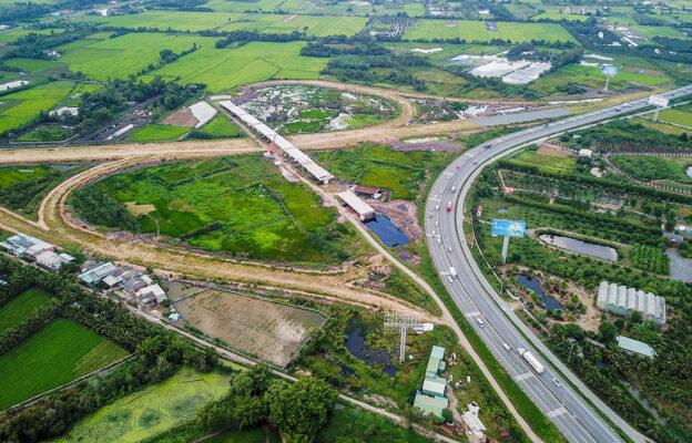 Cao tốc Trung Lương - Mỹ Thuận. Nguồn: Vnexpress